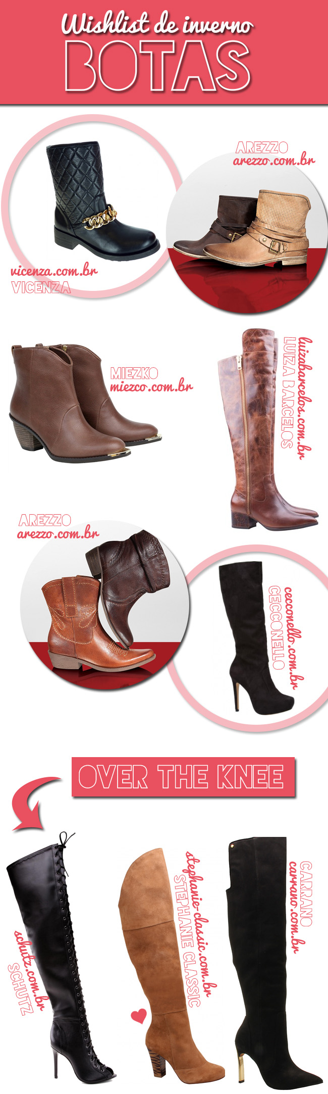 botas tendencias 2014