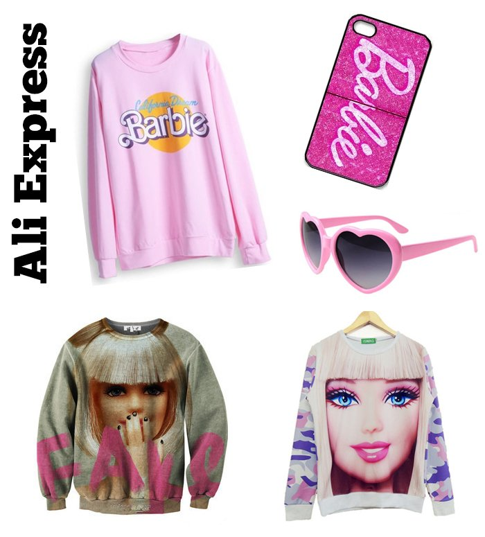 moda barbie ali express 2