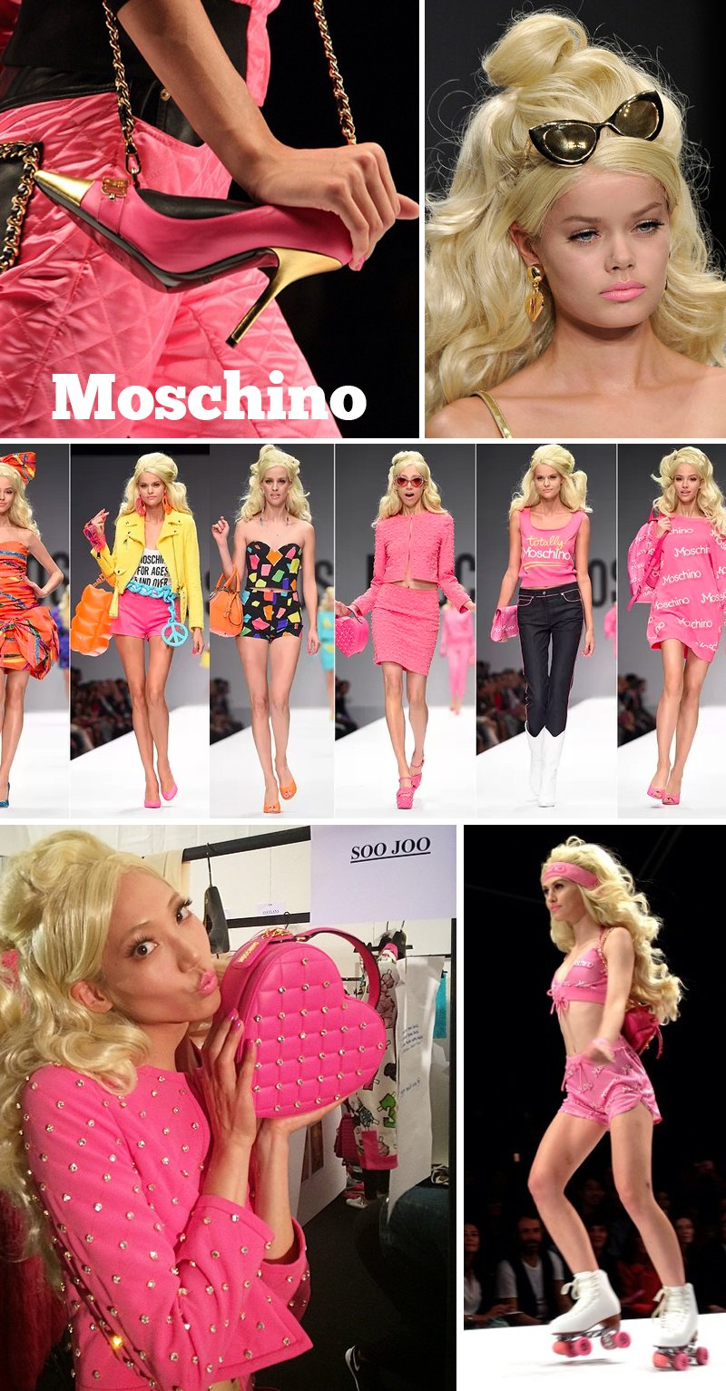 moda barbie moschino