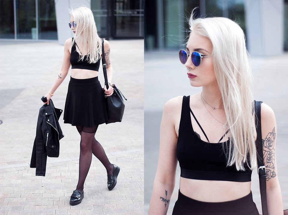 look com strappy bra