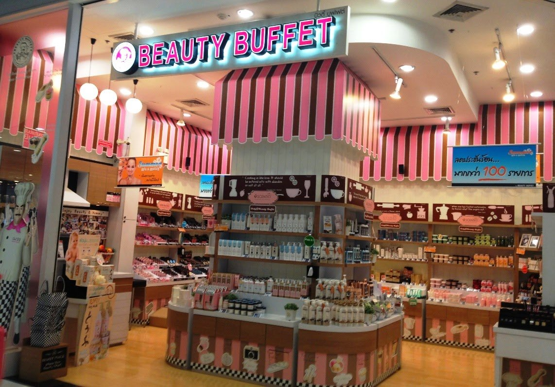 beauty buffet compras bangkok